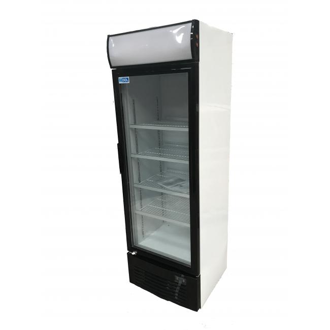 Kool ud400alc single door upright chiller single door for 1 door display chiller