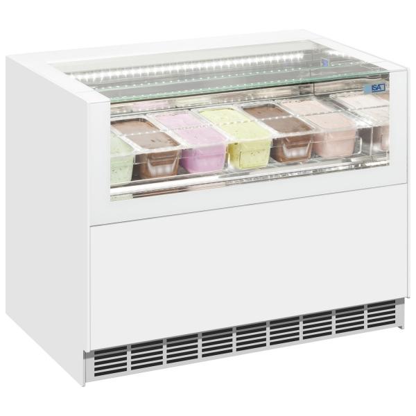 ISA One Show Free Regular Ice Cream Display Freezer