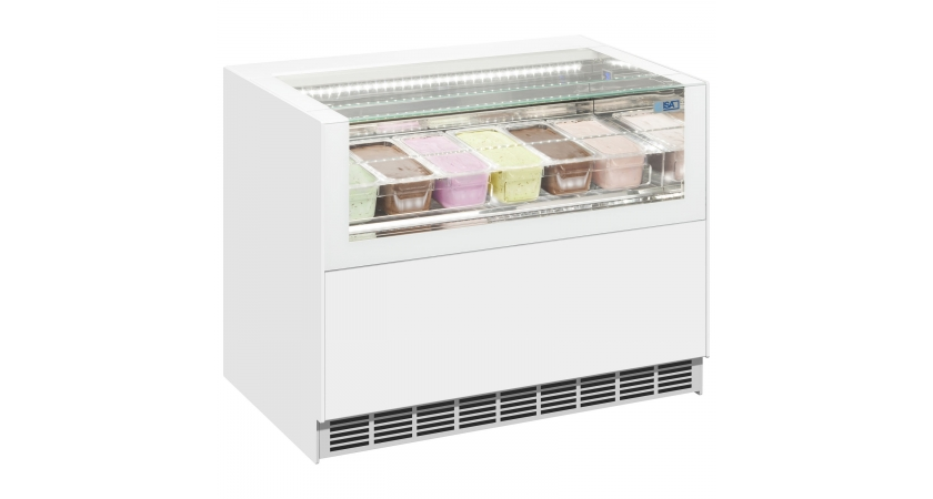 ISA One Show Free Regular Ice Cream Display Freezer