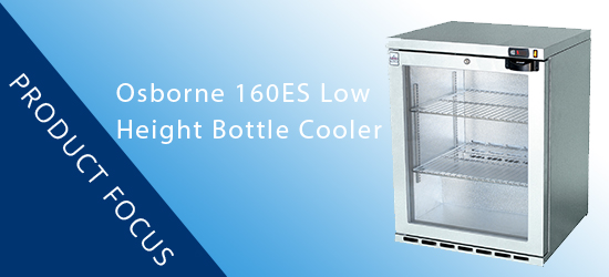 Product Focus: Osborne 160ES Reduced Height Bottle Cooler