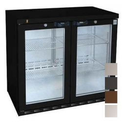 Osborne 220ES Reduced Height Double Door Bottle Cooler