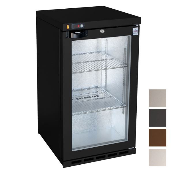 Osborne 50ES Single Door Bottle Cooler in Black