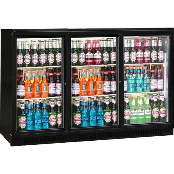 Blizzard BAR3SL Triple Door Bottle Cooler