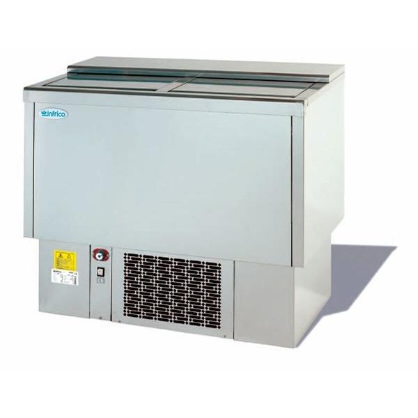 Infrico EFP1500SS Stainless Steel Chest Fridge