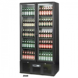 Infrico ZX20 Upright Double Door Bottle Cooler