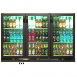 Infrico ZX3 Triple Door Bottle Fridge