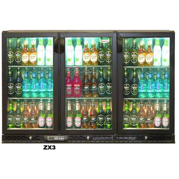 Infrico ZX3 Triple Door Bottle Cooler