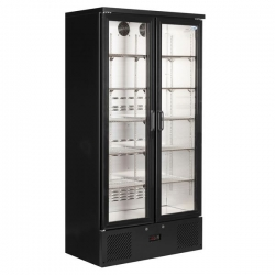 Interlevin PD220T Double Door Upright Bottle Cooler
