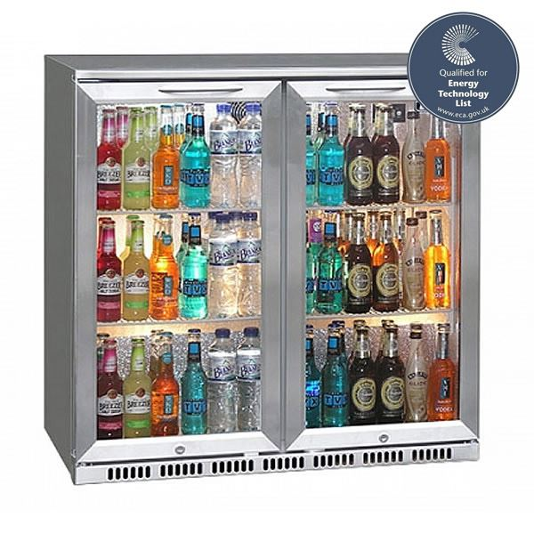 Blizzard BAR2SS Stainless Steel Bottle Cooler