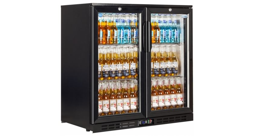 Interlevin EC20H Double Door Back Bar Chiller