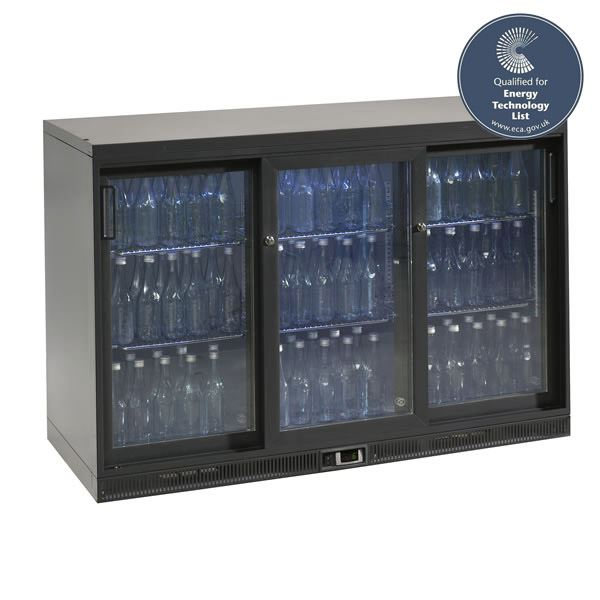 Gamko MG1-315SD Triple Sliding Door Bottle Cooler