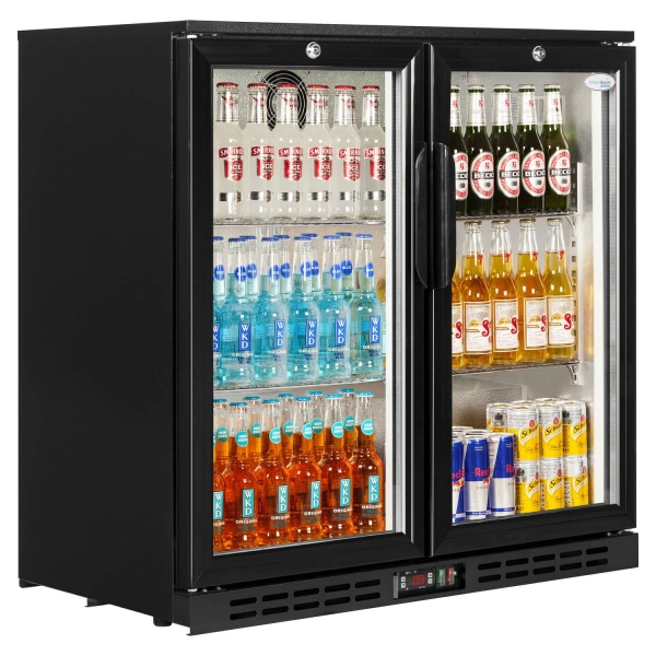 Interlevin PD20 Double Door Bottle Cooler