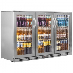 Interlevin PD30H SS Triple Door Bottle Cooler