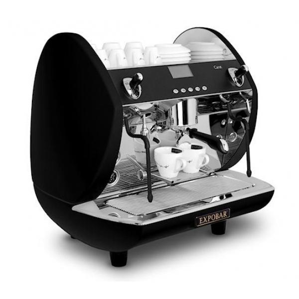 Expobat Carat 1 Group Coffee Machine Black Finish