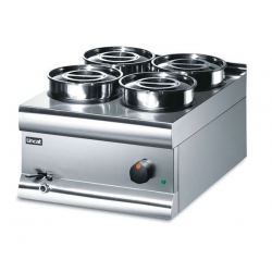 Lincat Silverlink BS4W 4 Pot Wet Heat Bain Marie