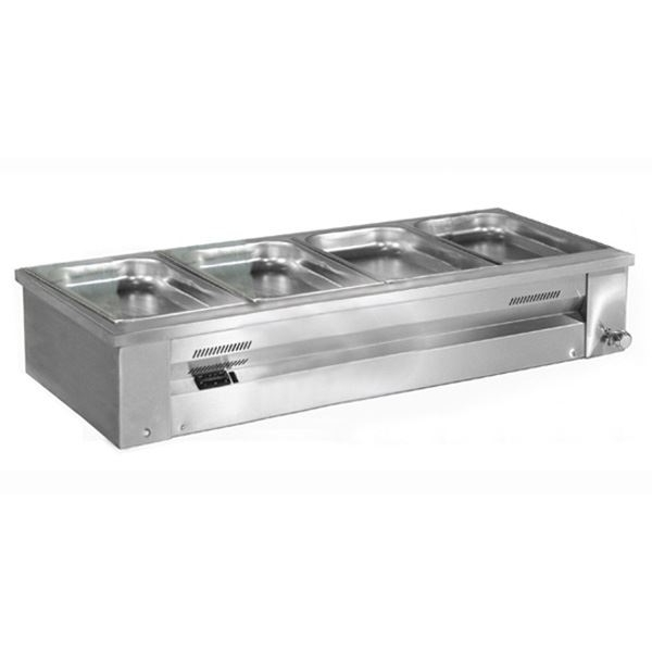 Inomak MA614 Counter Top Gastronorm Bain Marie
