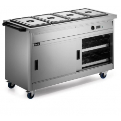 Lincat P6B4 1.5m Panther 670 Series Hot Cupboard with Bain Marie