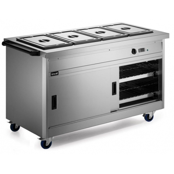 Lincat P8B4 Panther 800 Series Hot Cupboard with Bain Marie