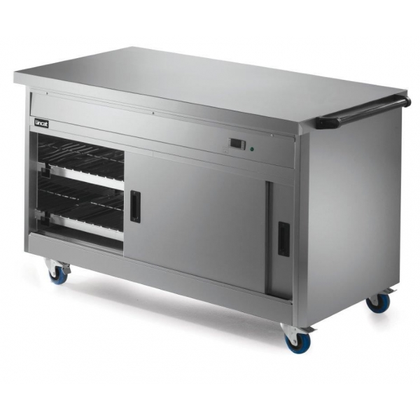 Lincat P8P4 Panther 800 Series Hot Cupboard with Plain Top