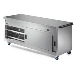Lincat P8P6 2.1m Panther 800 Series Hot Cupboard with Plain Top
