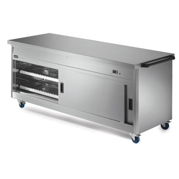 Lincat P8P6 Panther 800 Series Hot Cupboard with Plain Top