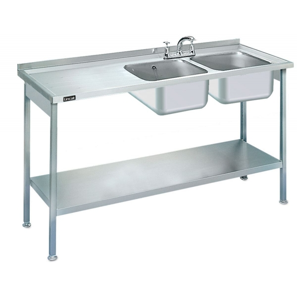 Lincat L884LH Double Catering Sink