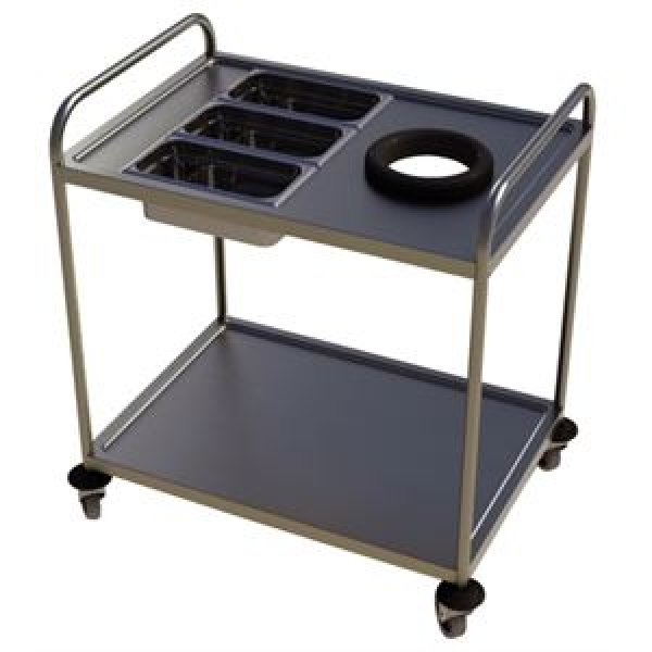 Craven Two Tier Clearing Trolley