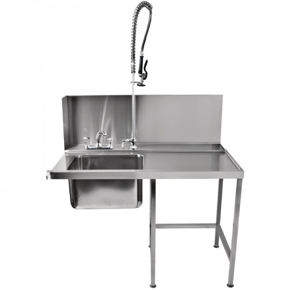 Classeq T11SENR Right Hand Pass-Through Table with Spray Mixer