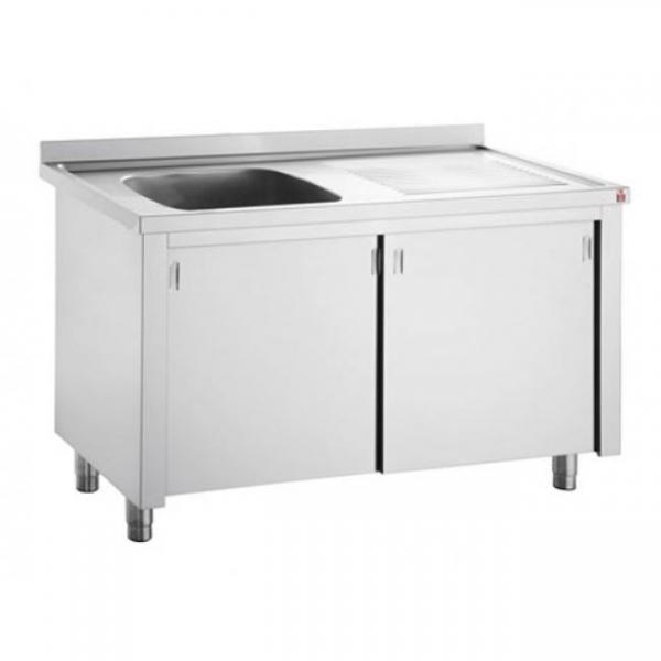 Inomak Catering Sink on Cupboard