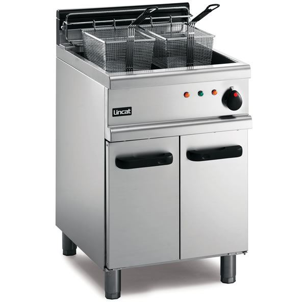 Lincat oe7108 opus large tank electric fryer for Electric fish fryer