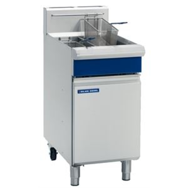 Blue Seal GT46 Free Standing Natural Gas Twin Fryer