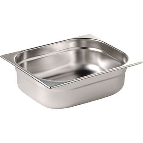 Vogue Stainless Steel Gastonorm Pan 2/3 Two Third Size