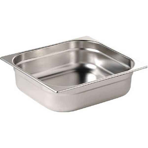 Vogue Stainless Steel Gastonorm Pan 1/2 One Half Size
