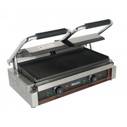 Blizzard BRRCG2 Double Ribbed Plate Contact Grill