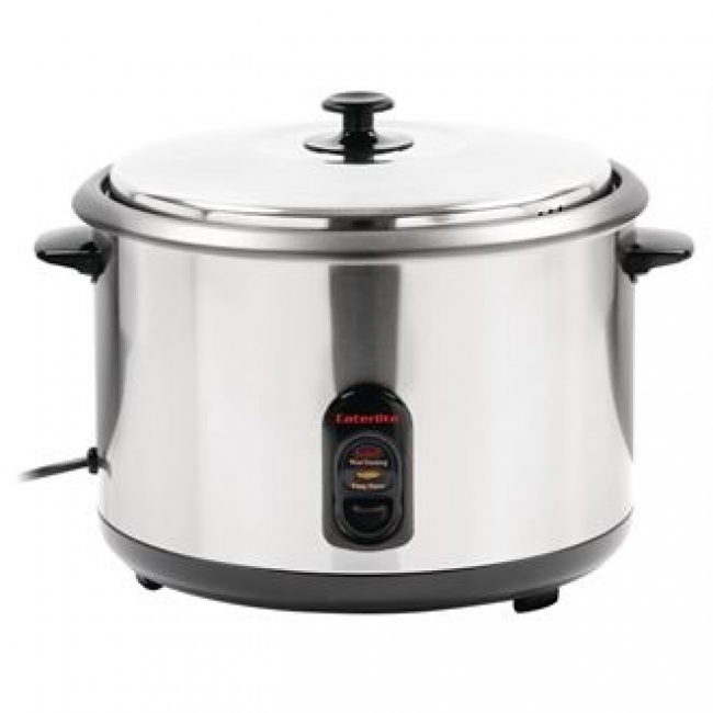 Electric Commercial Cookers ~ Caterlite j compact litre electric rice cooker