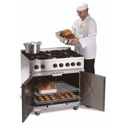 Parry P6BO 6 Burner Natural Gas Oven Range