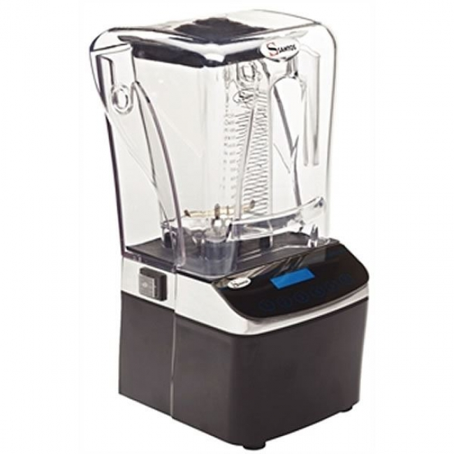 santos dn638 silent drinks blender commercial blenders corr chilled. Black Bedroom Furniture Sets. Home Design Ideas