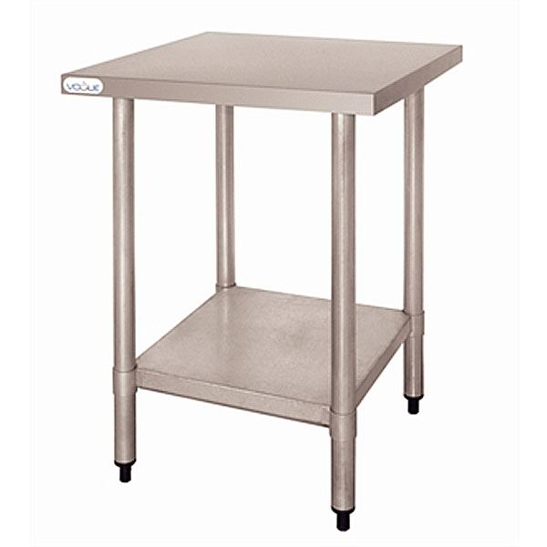 Vogue T389 Stainless Steel Table Without Upstand