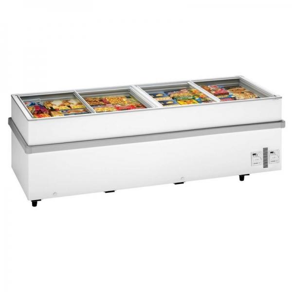 Arcaboa 1100CHV Island Display Freezer