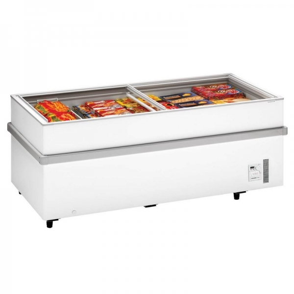 Arcaboa 900CHV Island Display Freezer