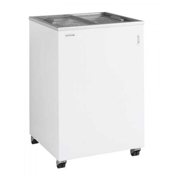 Tefcold IC100SC Sliding Flat Glass Lid Chest Freezer