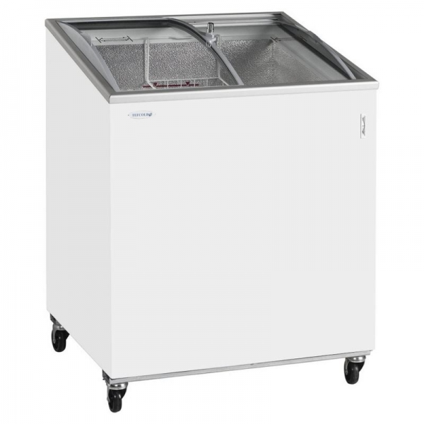 Tefcold Curved Lid Display Freezer