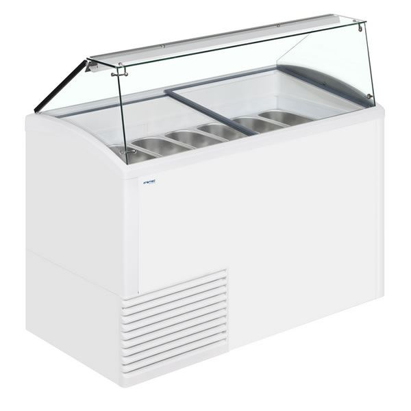 Framec SLANT 510 Ice Cream Display Freezer