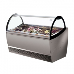 ISA Millennium SP20 20 Pan Ventilated Soft Scoop Ice Cream Display Freezer