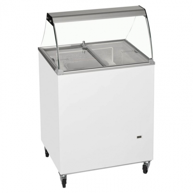 Tefcold IC300SC CANOPY Ice Cream Display  sc 1 st  Corr Chilled & Tefcold IC200SC CANOPY 4 Pan Ice Cream Display - Commercial ...