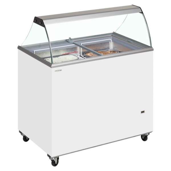 Tefcold IC400SC 10 Pan Ice Cream Display