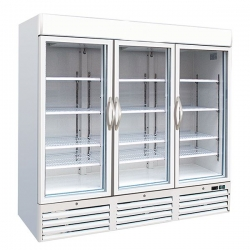 Kool F1400 Triple Door Upright Display Freezer