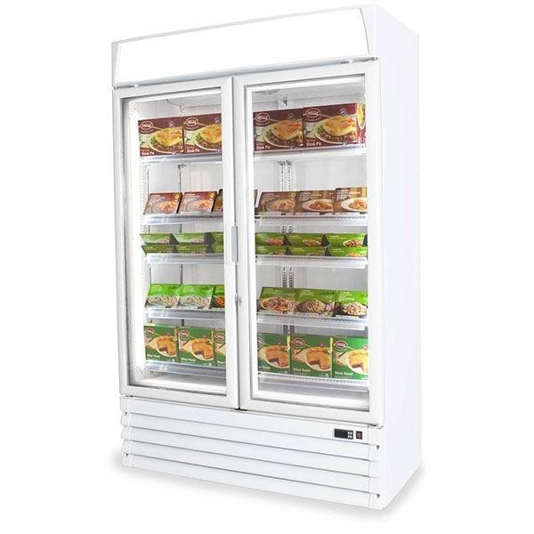 Capital Pegasus Eco Freeze Double Door Display Freezer