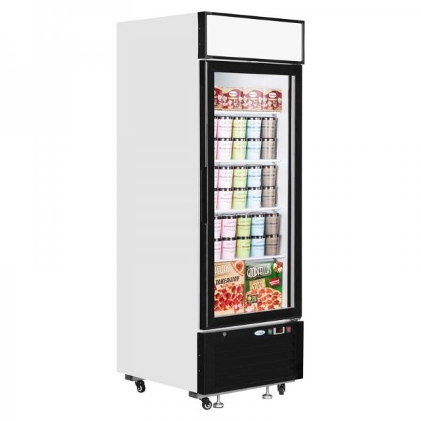 Interlevin LGF2500 Single Glass Door Display Freezer