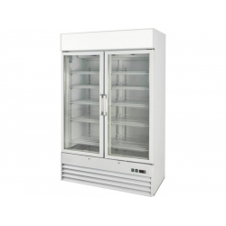 Prodis XD2NW 730 Litre White Heavy Duty Glass Door Display Freezer